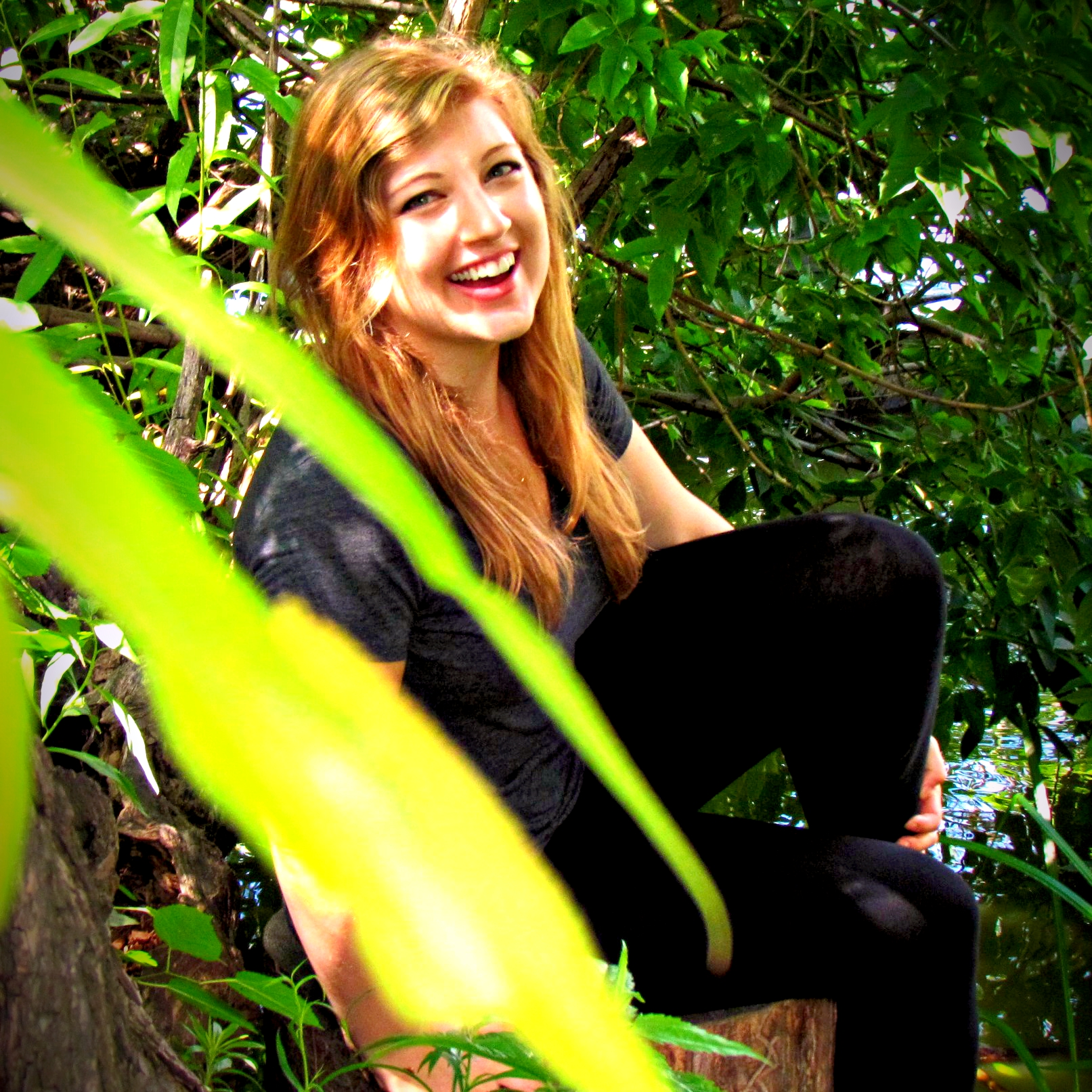 Shelby Forsythia Laughing