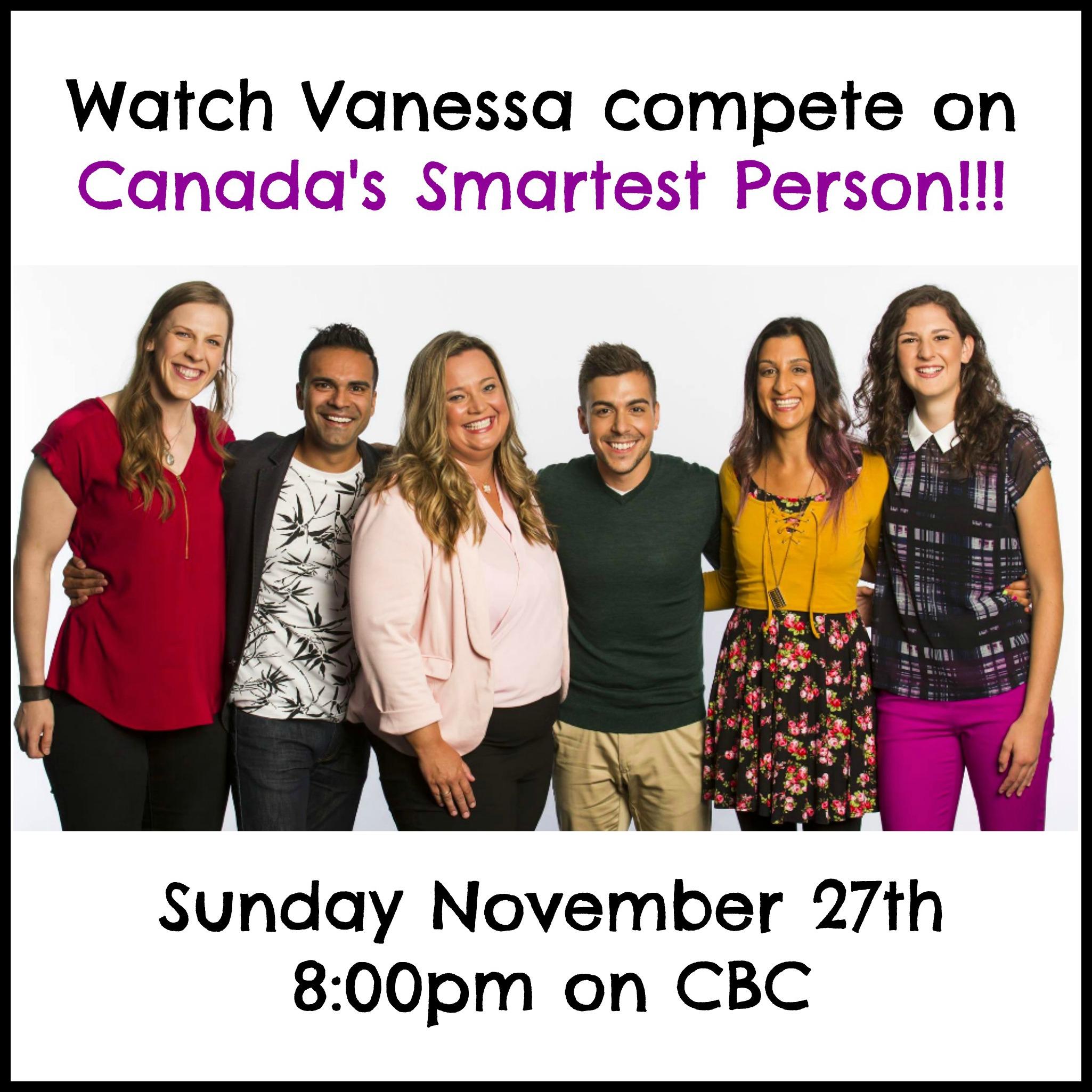 Canada's Smartest Person November 2016