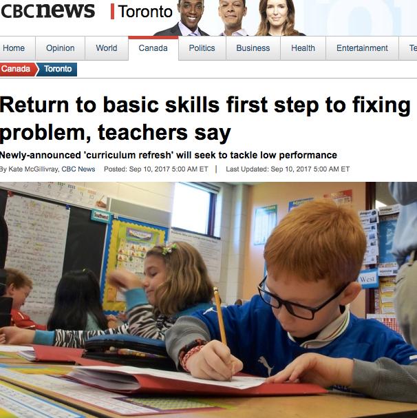 CBC News September 2017