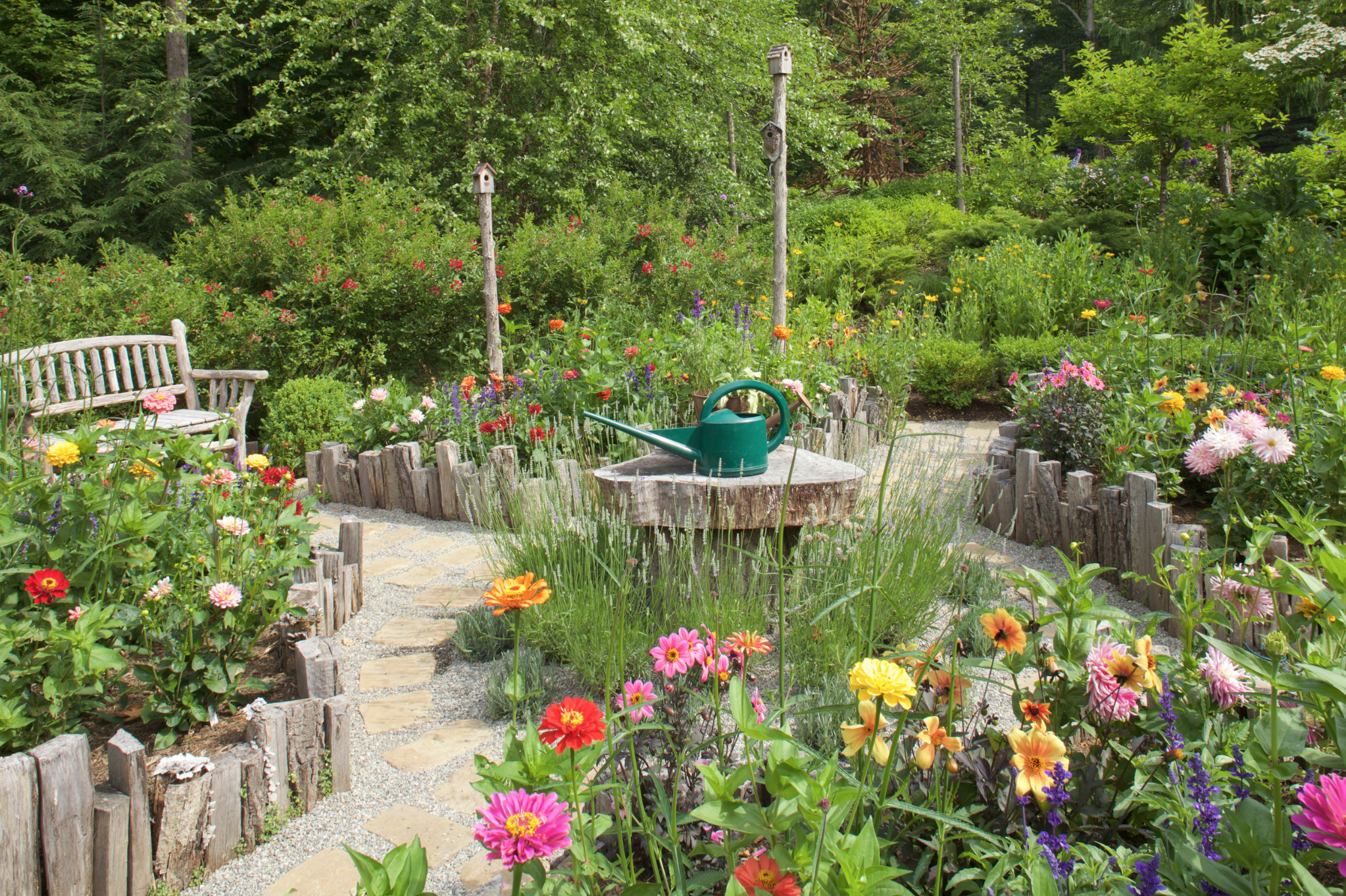 patio and garden in Greenwich, CT
