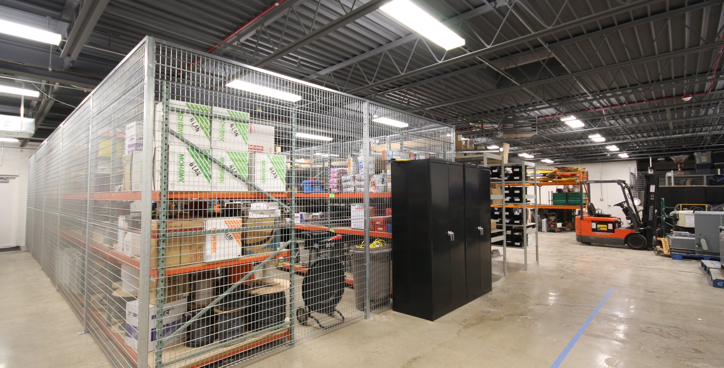 MDI ACCESS CORPORATE HEADQUARTERS_WAREHOUSE CAGE.JPG