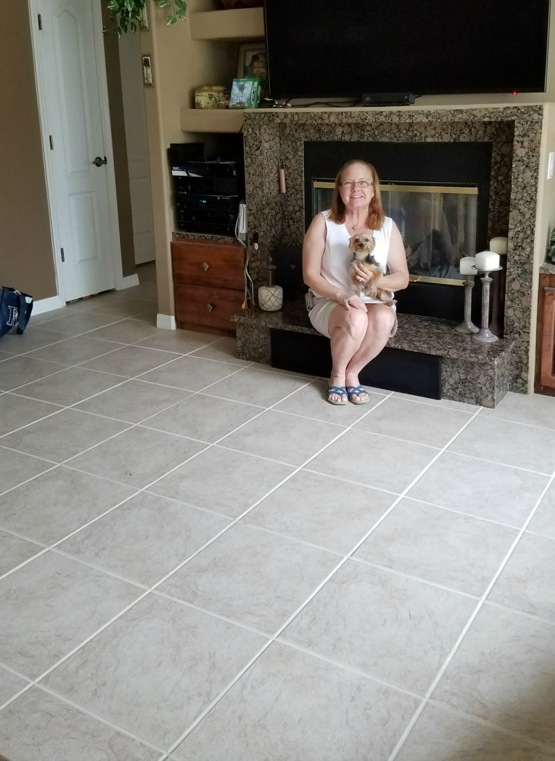 Happy Grout Restoration Customer [Testimonial] | MrsGrout.com