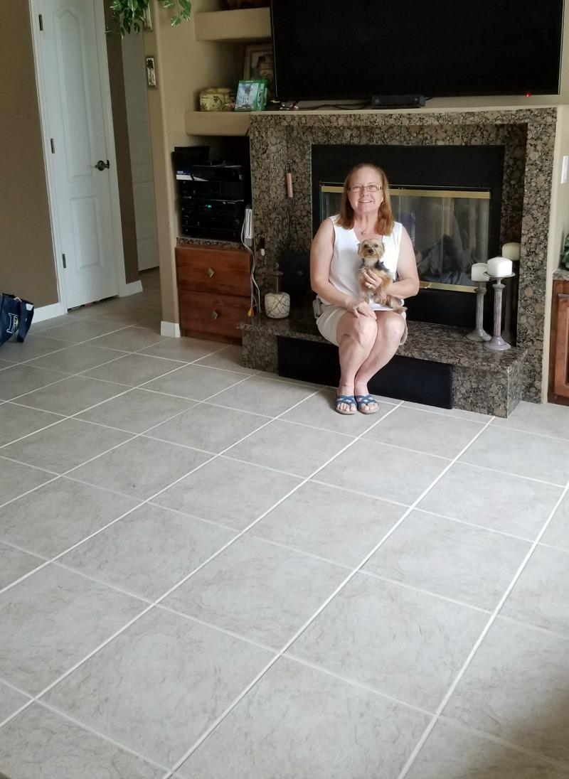 Happy Grout Restoration Customer [Testimonial] | MrsGrout.com