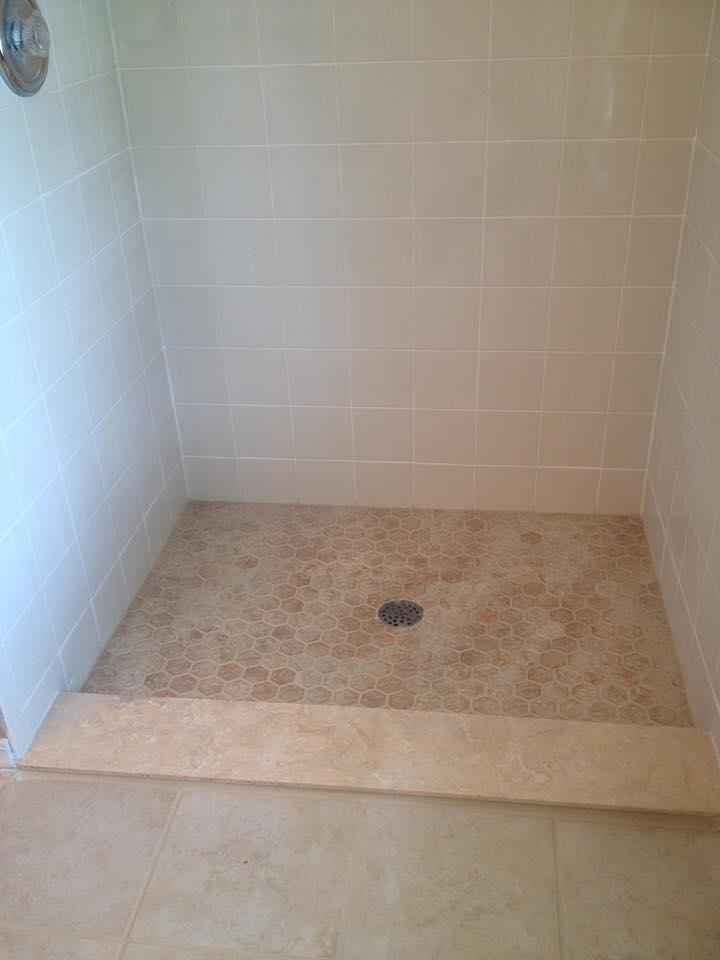 Shower Grout After Mrs Grout Service