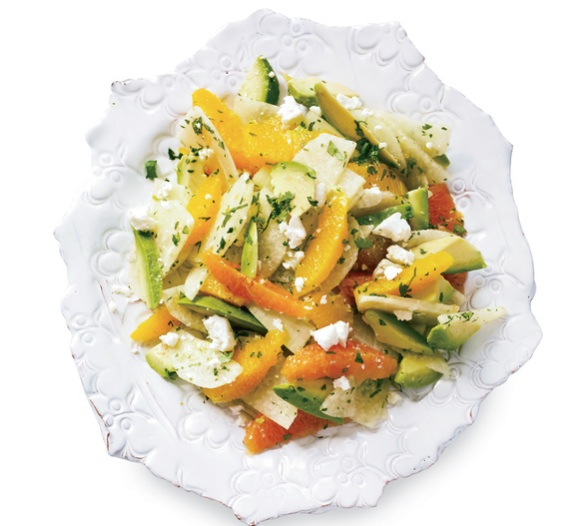 Avocado, Orange & Jicama Salad