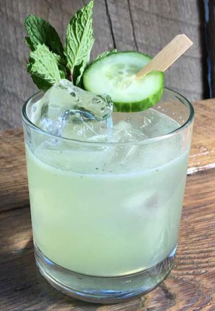 Cucumber Cooler Memorial Day Drink