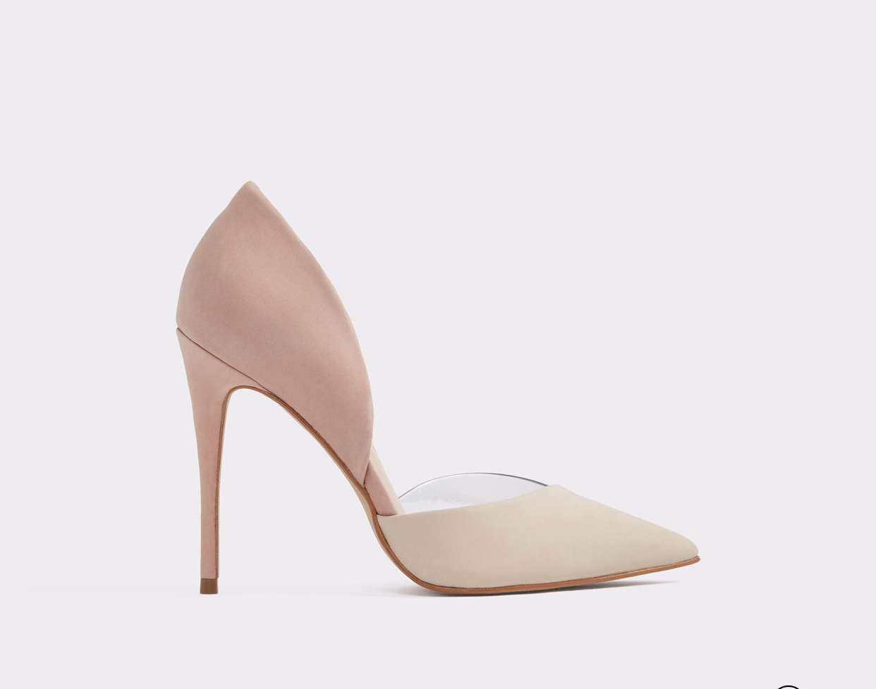 The Legiralia pump in Bone Nubuck. A modest heel to walk from garden to church -  Aldo