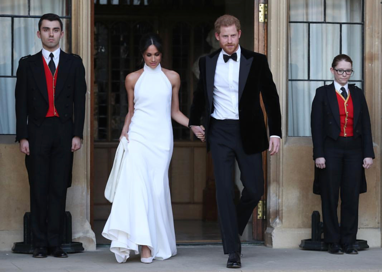 Meghan Markle in  Stella McCartney .