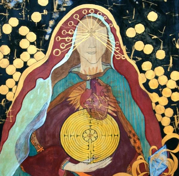 Goddess of Illumination, 2009, created by Regina Stribling