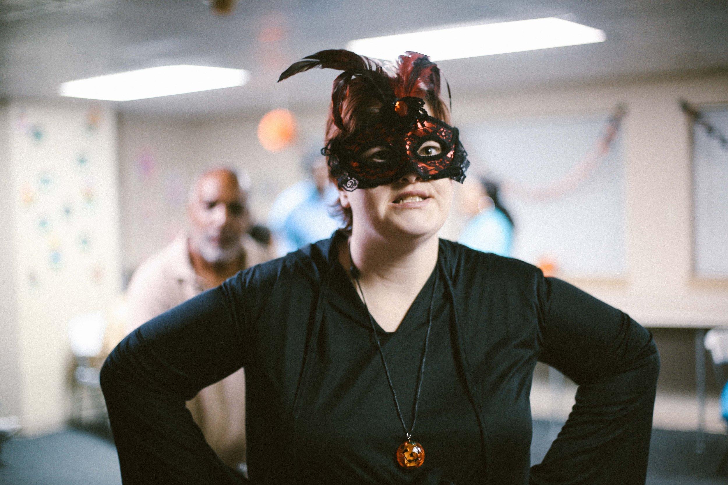 Masquerade mask!