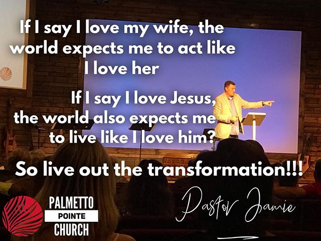 Live out your transformation so others can see how great HE is!!! #myrtlebeach #transformed #changed