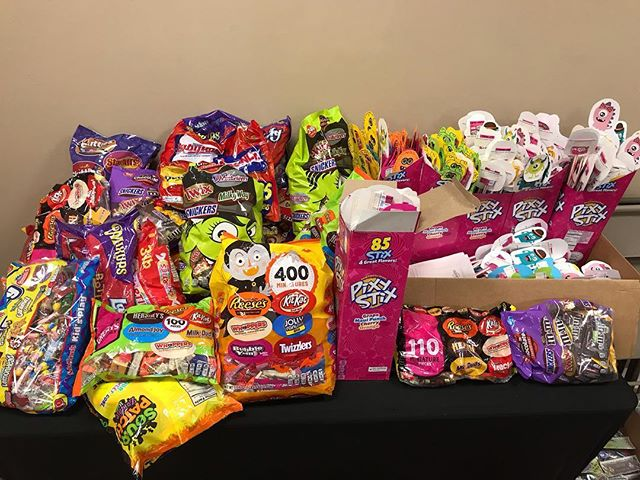 "Keep the candy rolling in for Trunk-or-Treat on October 28th from 5-7. Y'all are doing awesome and @kidz_pointe appreciates all the donations! If you want to do a trunk text the word ""treat"" to 843-353-1930, you still have time!"