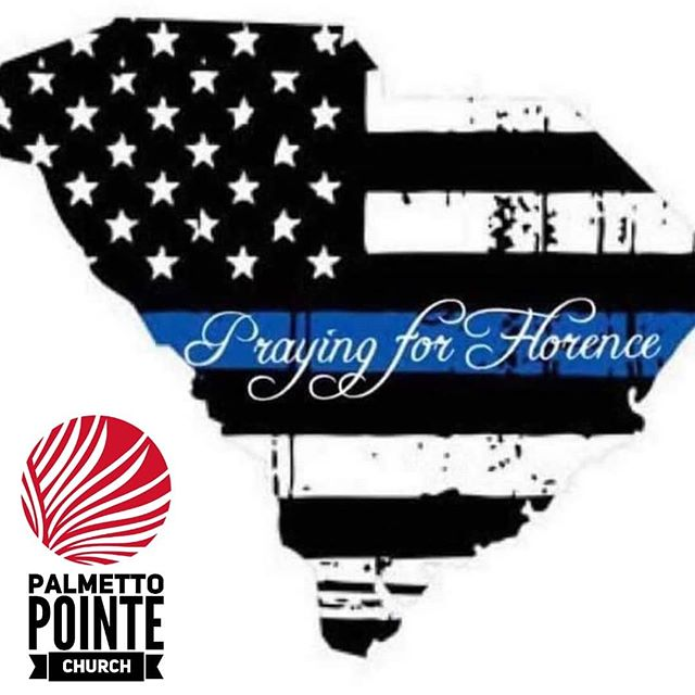 We are praying for all officers and their families involved in the Florence shooting ! 🙏