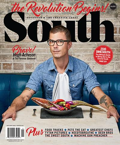 FEATURED IN SOUTH MAGAZINE -