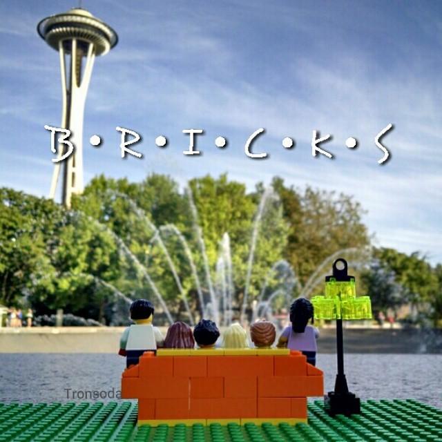 FRIENDS visit Seattle