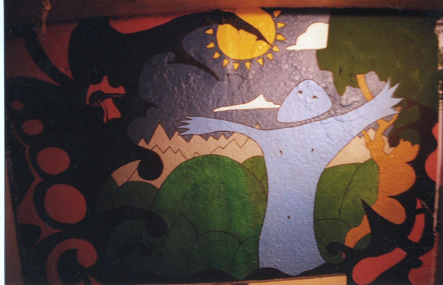 Ballard Playhouse Room Mural, Seattle WA