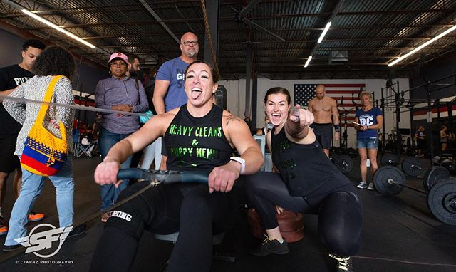 Someone is having a GOOD time. #superfitdc @rxproshop @ascent_protein @crossfit_lorton photo @cfarnz
