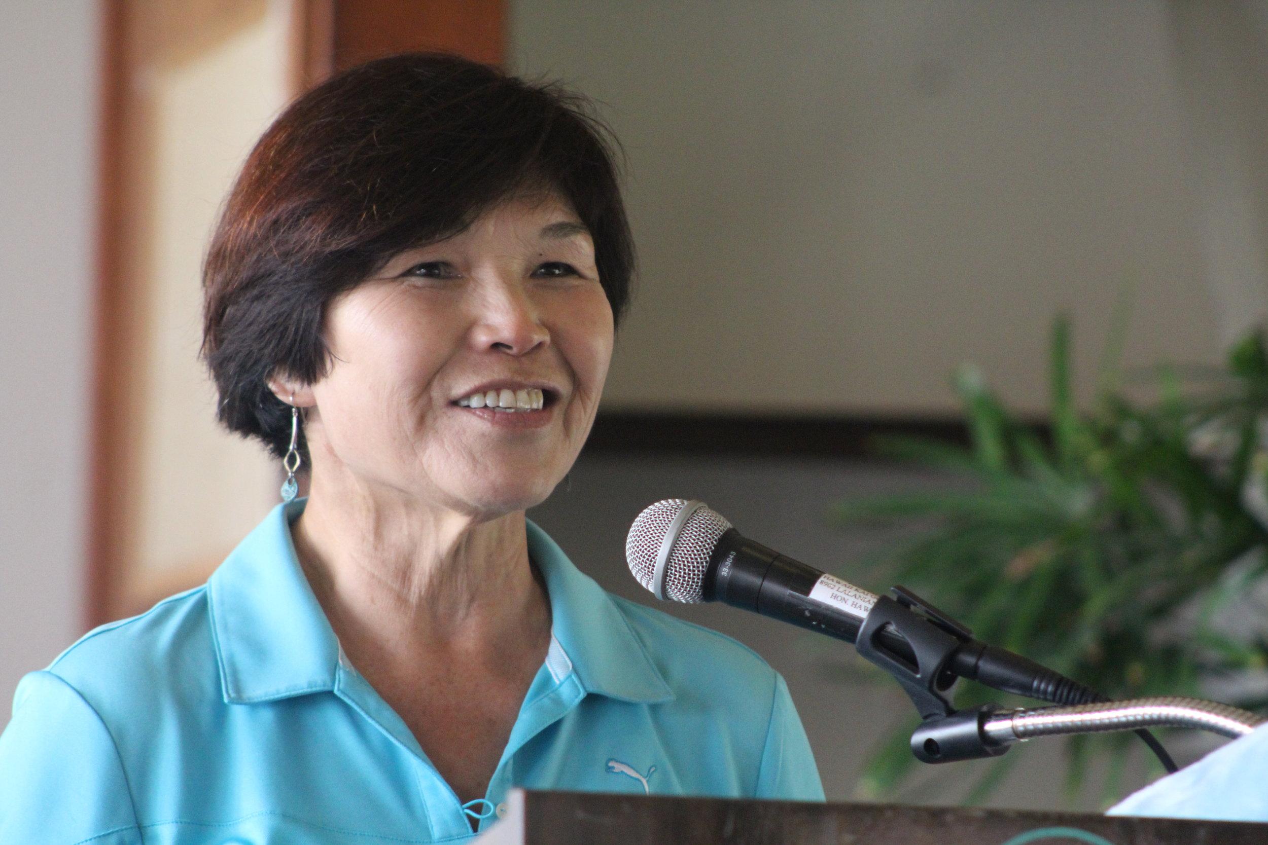 Gwen Omori President 2013-2015