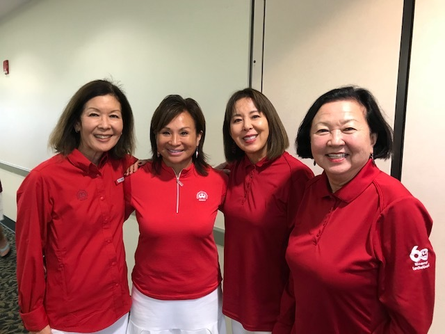 "The ""Nekoba"" team, Marge Sheehan, Carol Dang, Daryl Nekoba, and Ann Ching."
