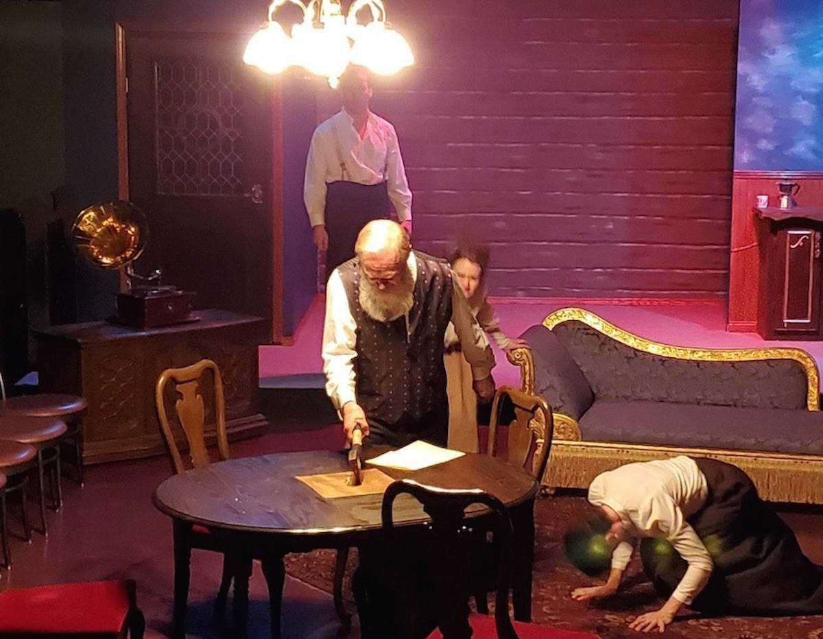 CAT tackles the murky Lizzie Borden story when 'Blood Relations' opens at Red Deer theatre - Full Story… May. 9, 2019