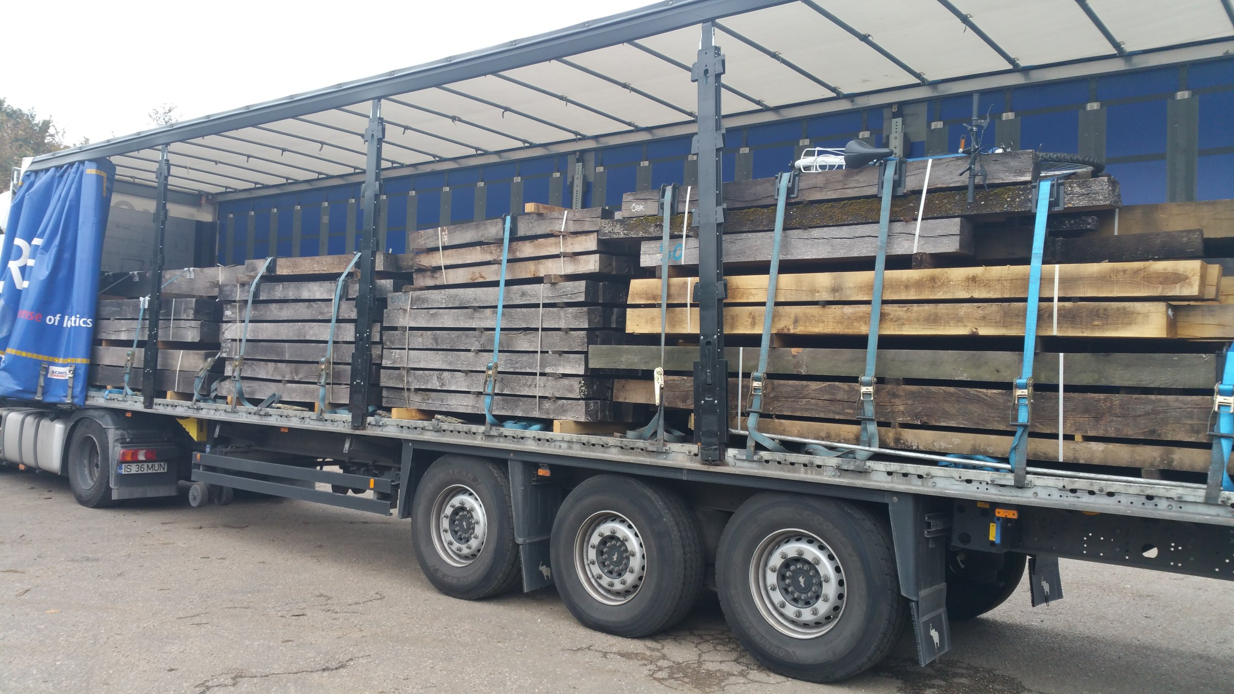 Oak Beam delivery