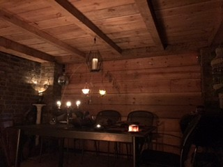 Bueatiful oak framed BBQ canopy