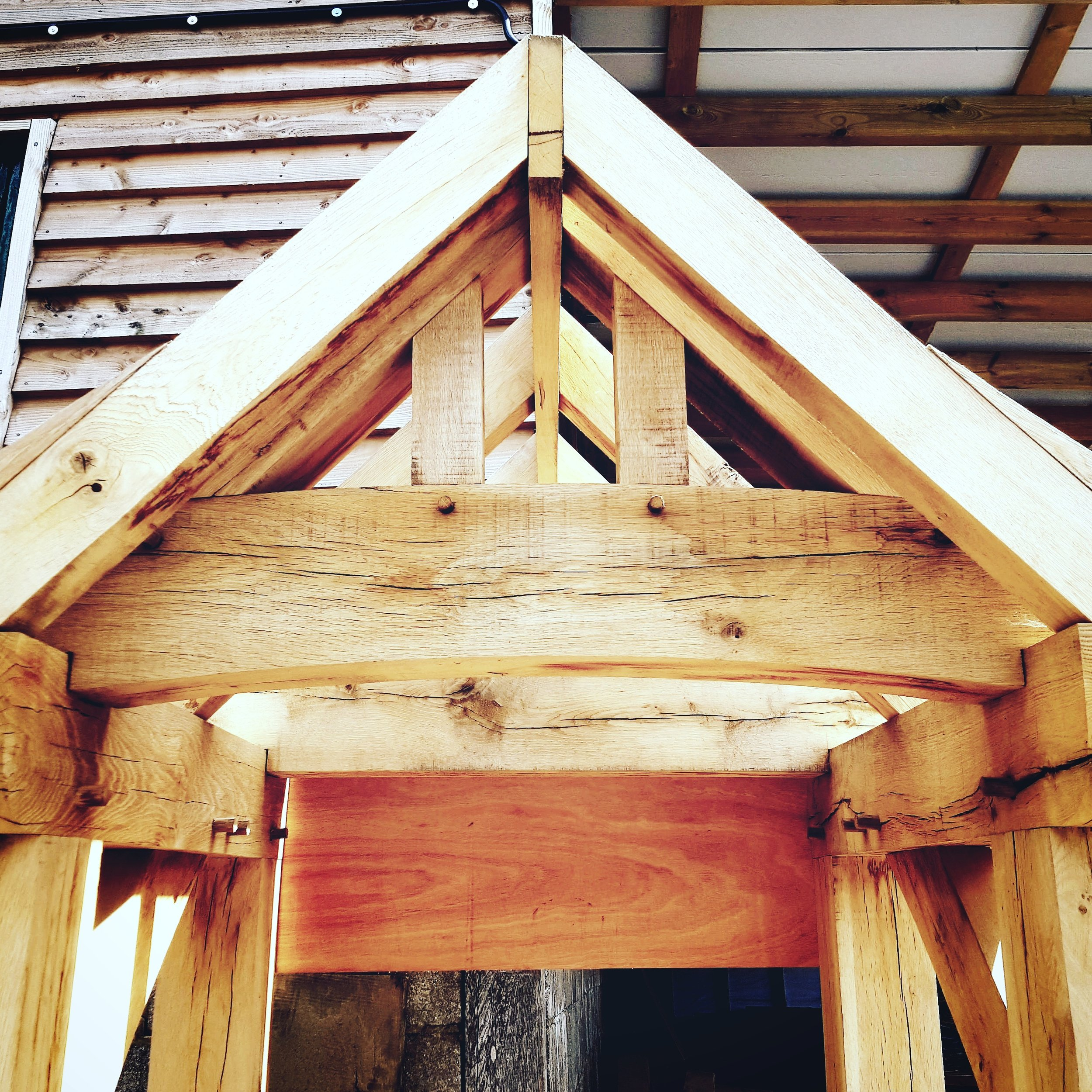 Oak porches