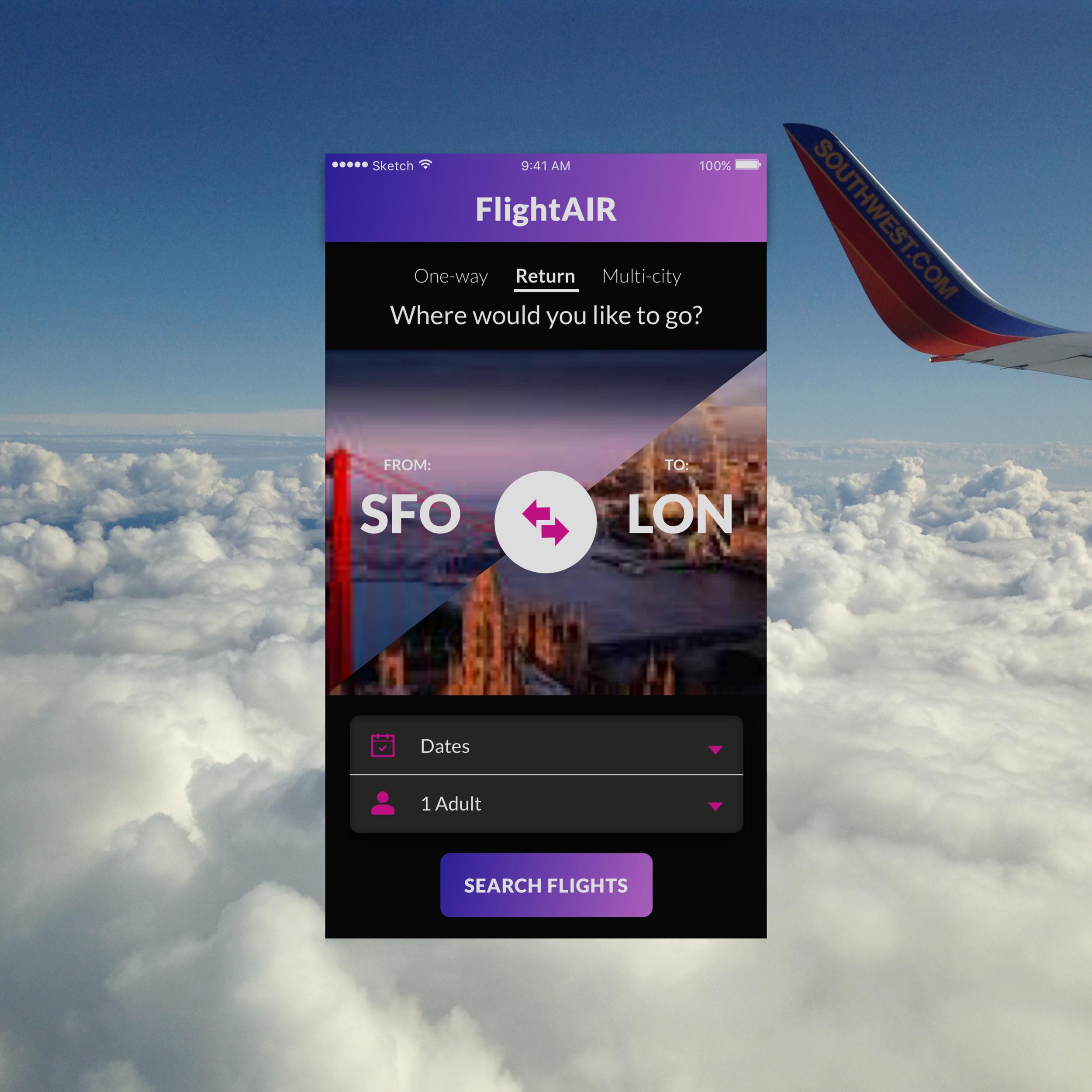 #068: Flight Search