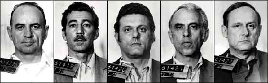 The arrest of the Watergate Hotel burglars in 1972 was the last time high profile political agents were arrested for violating US federal law.