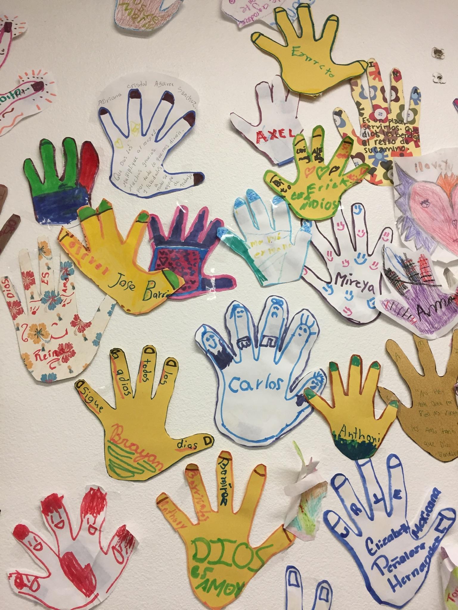 hands at JFS
