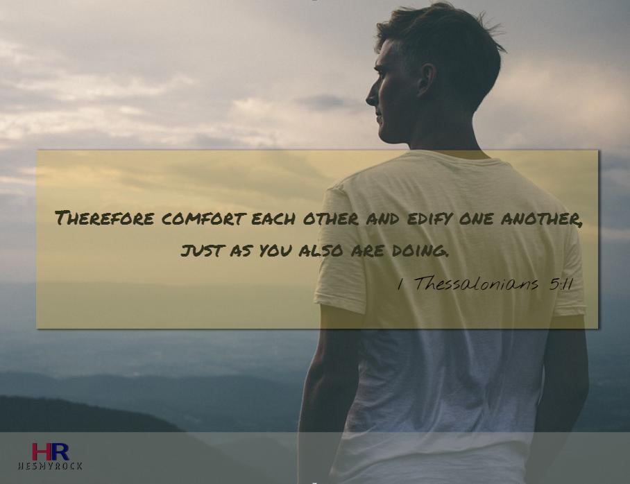 1 Thessalonians 5:11