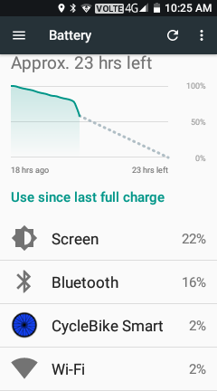 - Even though it warns you that the battery may drain more quickly, the majority of the battery drain is just from keeping the screen illuminated.