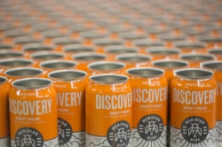 Discovery Cans ready to be filled