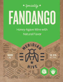 Fandango Agave & Lime Mead Label