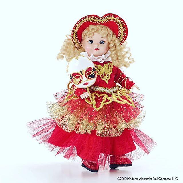 It's Carnival time in New Orleans! Madame Alexander Italy - Carnival #carnival #neworleans #nola #frenchmarket #doll #toys
