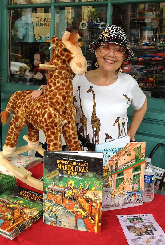 Pre Order an Autographed copy of your favorite Jenny Giraffe Classic! -