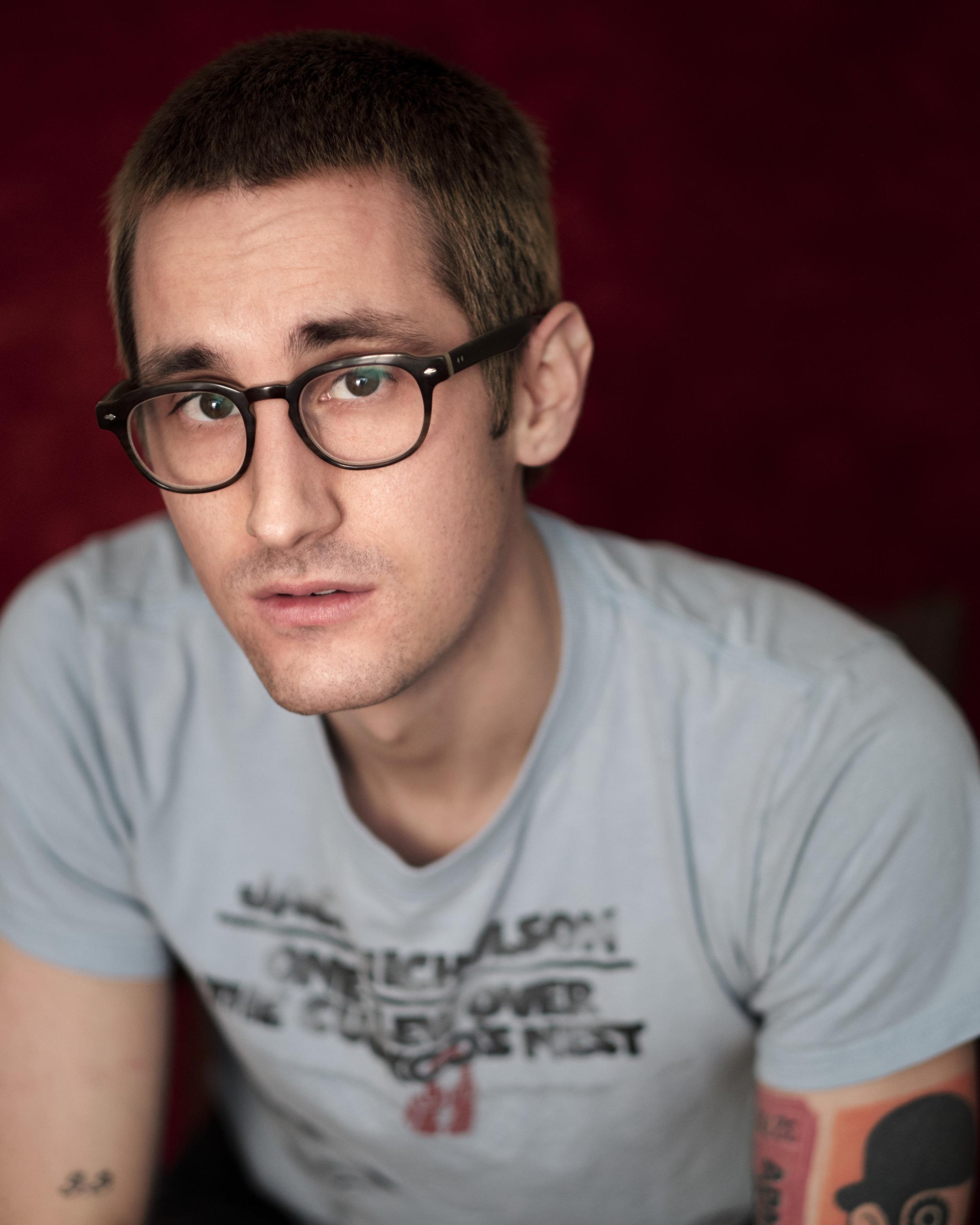 Man, closeup, headshot, David, Fulde, Toronto Creative, Toronto Photographer