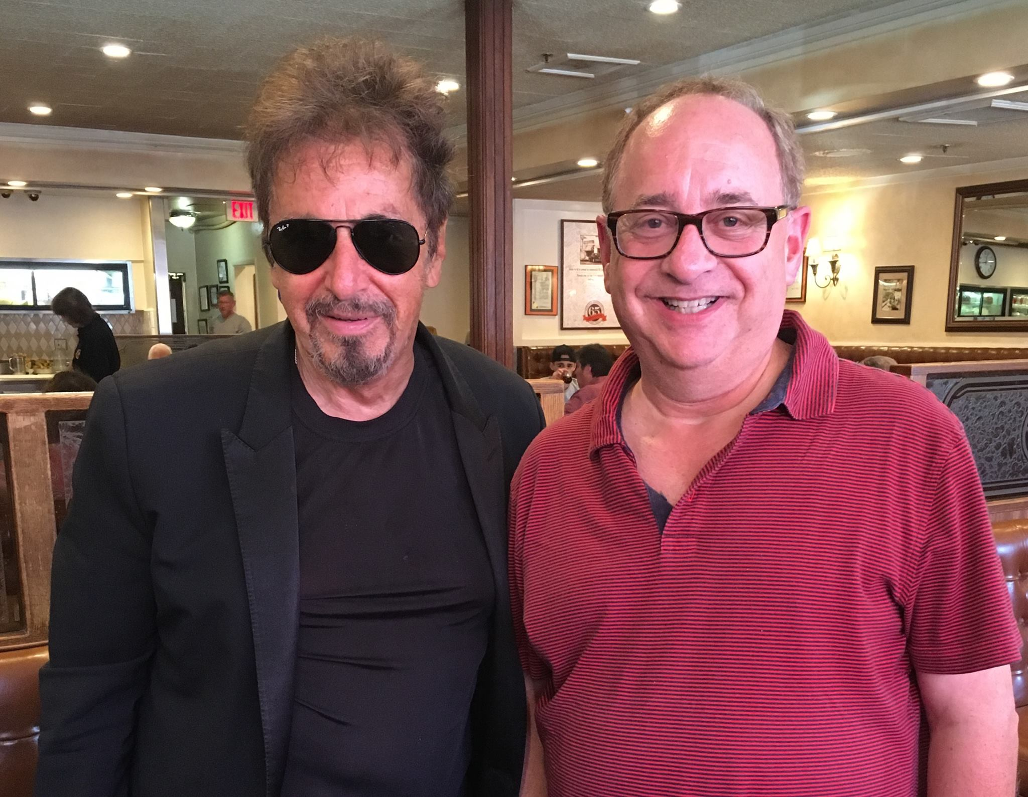 Chuck Field with Al Pacino