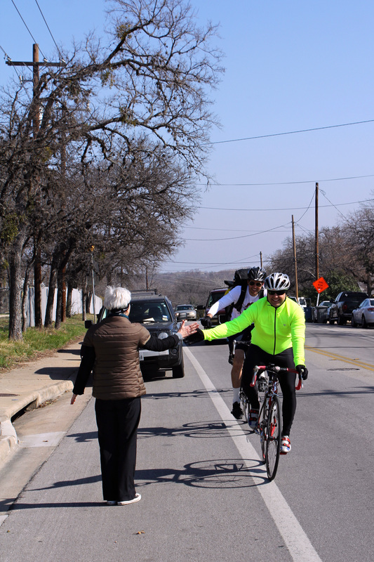 Riders had a choice of 3 routes, with distances of 10, 25, and 60 miles.