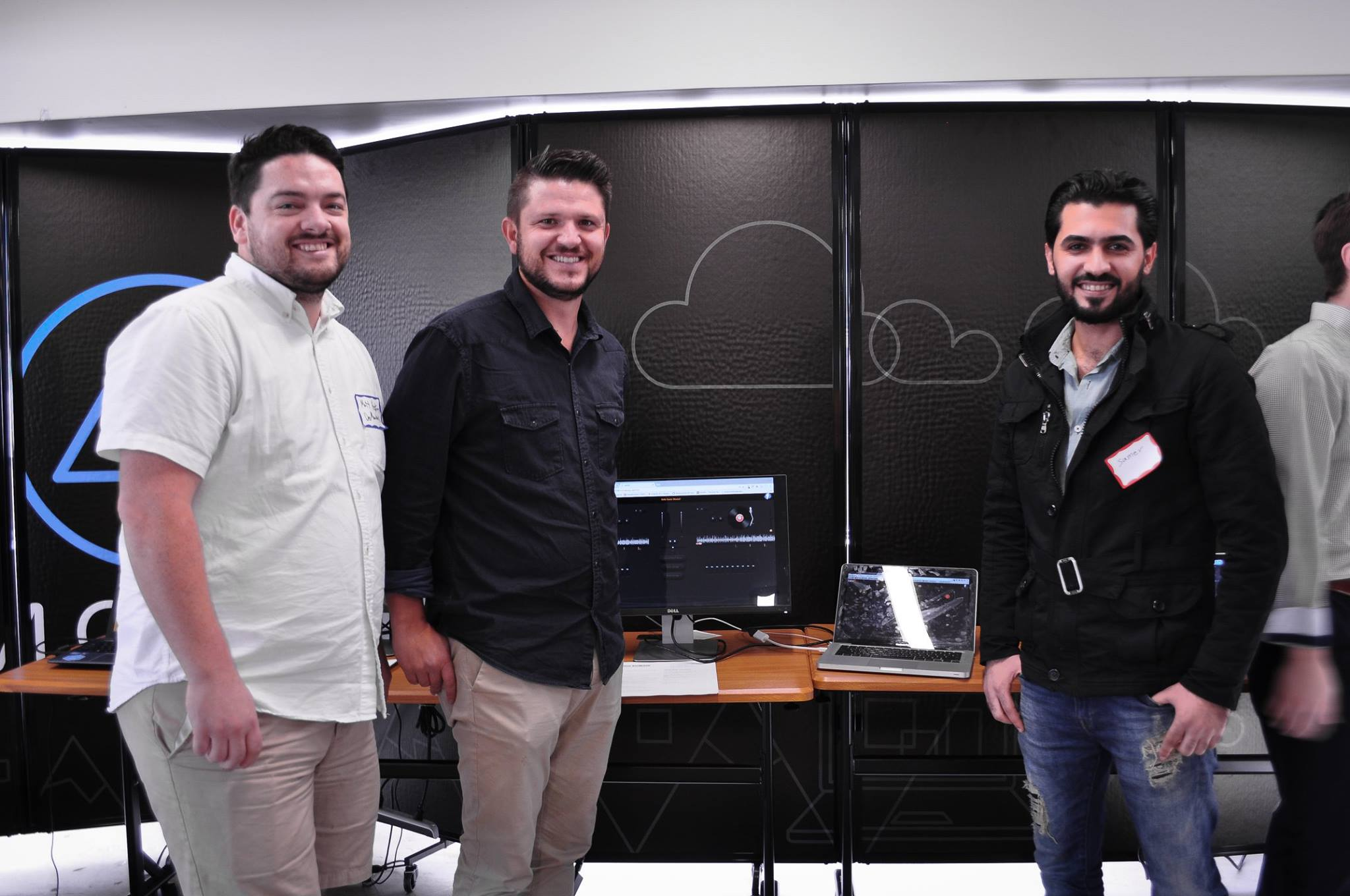Samer (right) is an RST client who earned a three-month scholarship to study code  through  DevMountain with the help of RST Employment Services.