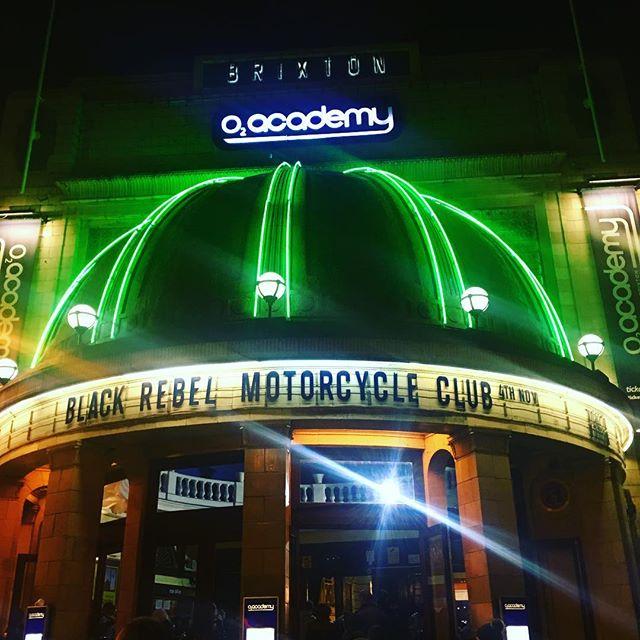 #blastfromthepast #blackrebelmotorcycleclub #gig #london #brixton @o2academybrix @brmcofficial