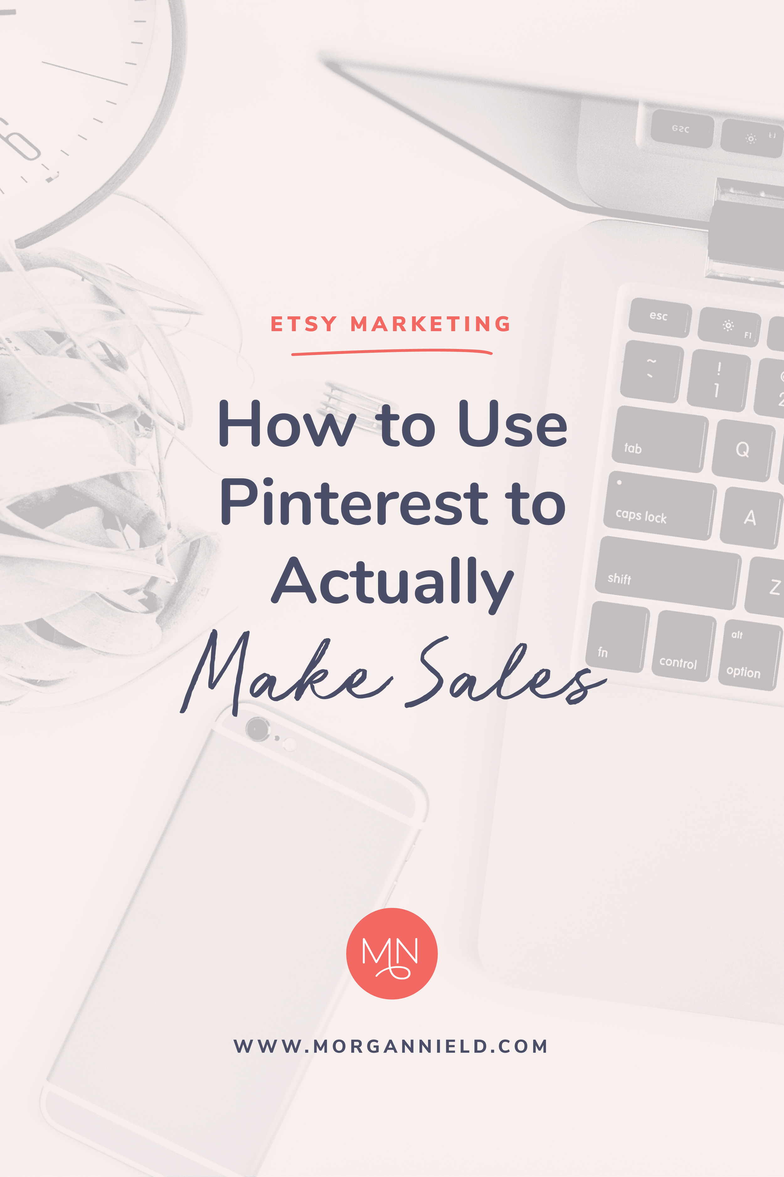 Pinterest is an AMAZING tool for driving traffic to your Etsy shop, but most Etsy shop owners have no idea how to effectively use it. Learn how to use your Pinterest account strategically and efficiently to market your Etsy shop and make sales every single day! >>