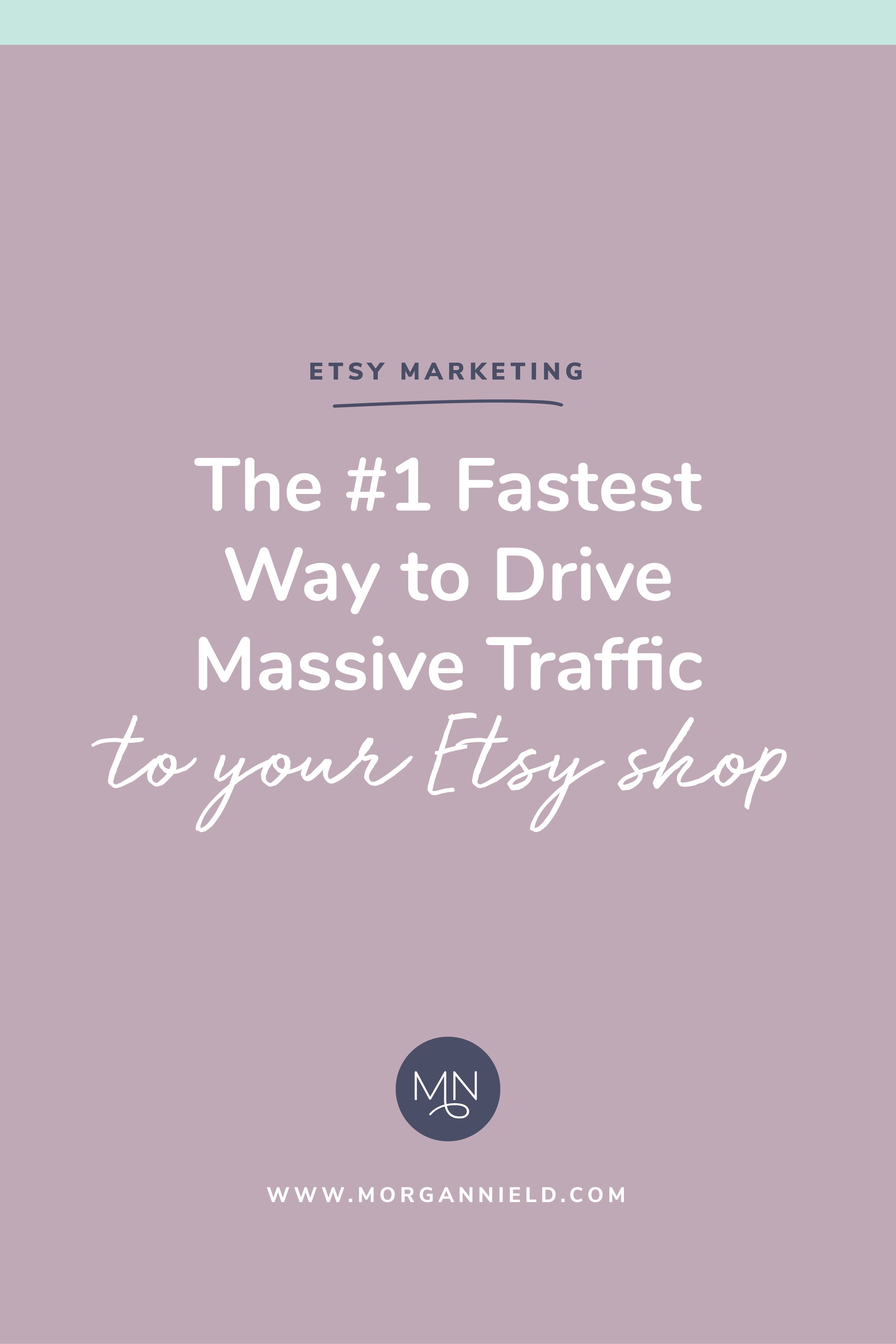 The #1 Fastest Way to Drive Massive Traffic to Your Etsy Shop | When you're just starting out on Etsy, it's hard to drive that initial traffic to make those first few sales. Working with social media influencers and bloggers is THE BEST and FASTEST way to get your product in front of thousands of eyes at relatively little cost to you. Click through to the blog to learn EXACTLY how I pitch my products to influencers! >>