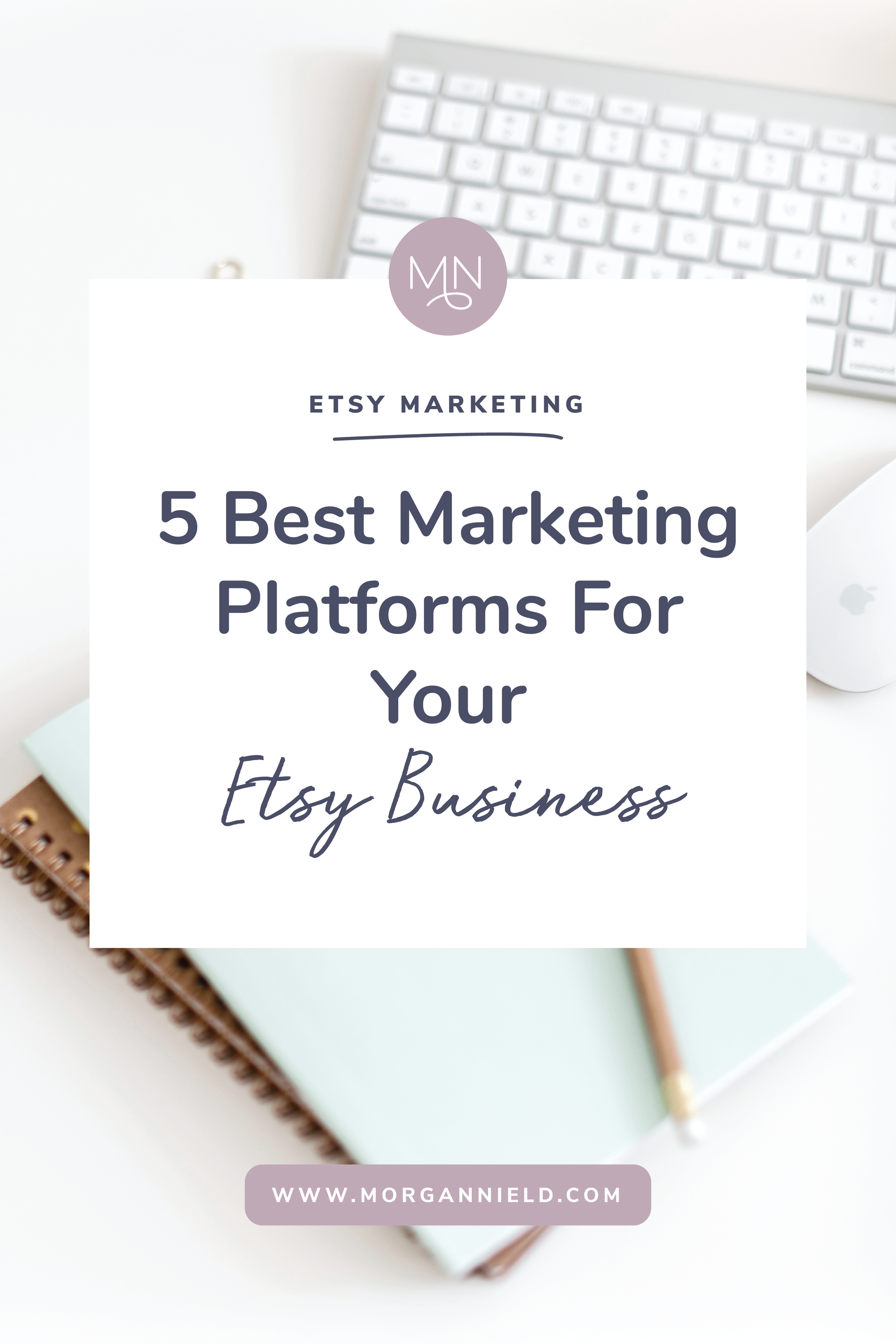 Driving traffic to your Etsy shop is one of the hardest parts of running a successful small business. Today I'm diving into the top 5 platforms you should be utilizing consistently to drive MAJOR traffic to your Etsy shop and start earning consistent sales... >>