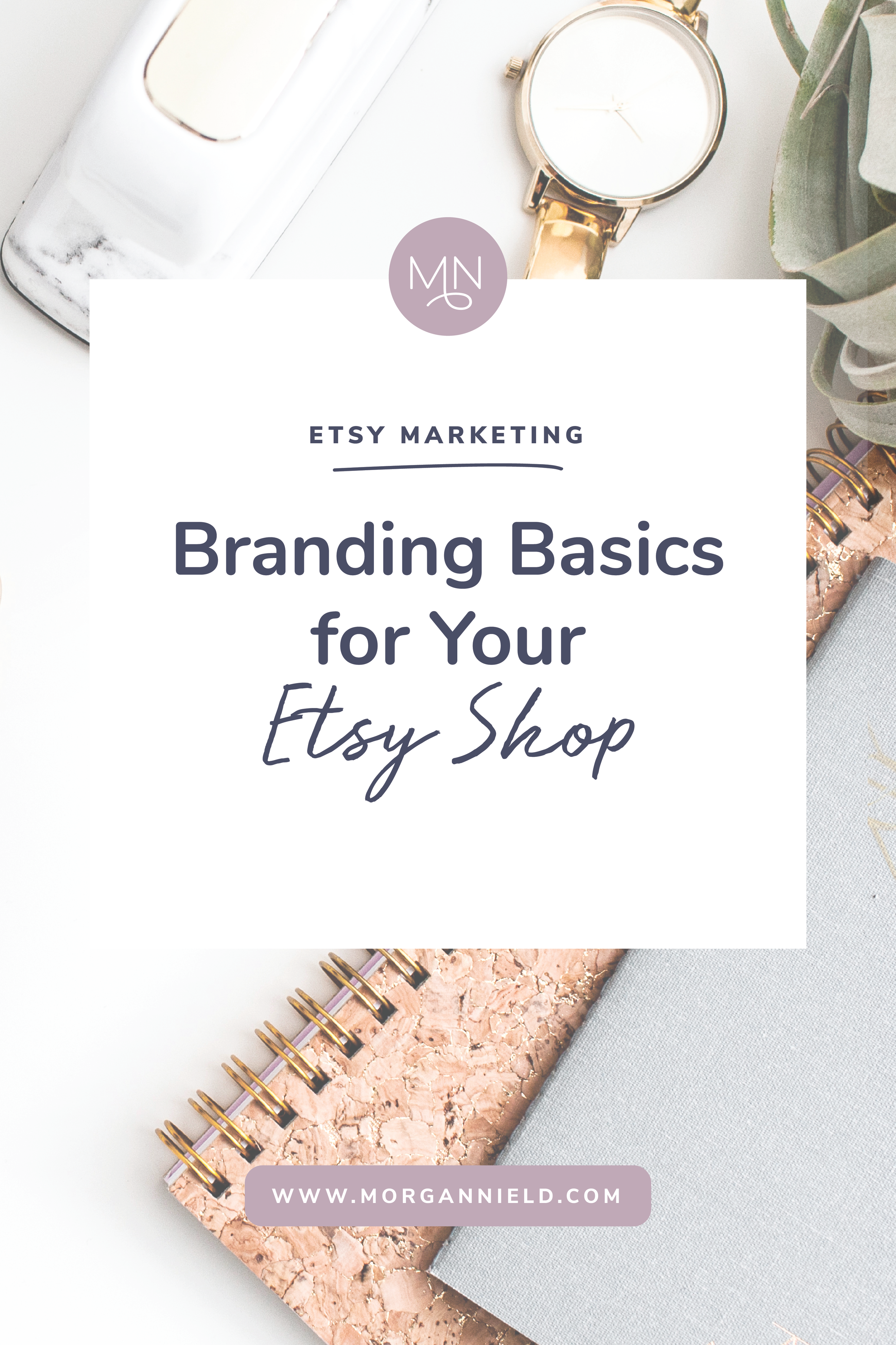 Branding your Etsy shop is more than just uploading your logo and calling it a day. While logos are a huge part of your visual identity, there are a few other factors to take into consideration when trying to create a memorable brand for your Etsy shop...