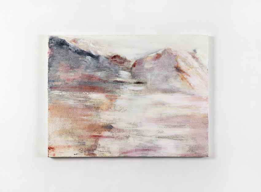 Angelo Bellobono. Next resort. 2010. Acrylic on canvas. 76 x 101cm.