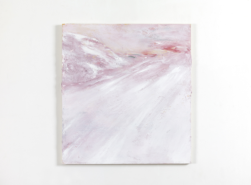 Angelo Bellobono. Temporary territory. 2012. Acrylic on wood. 61 x 57 cm.