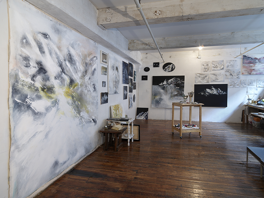 Angelo Bellobono. Installation View. Studio.