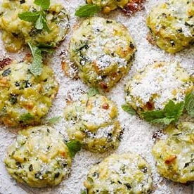 Courgette Polpette     Hugh Fearnley-Whittingstall via The Guardian