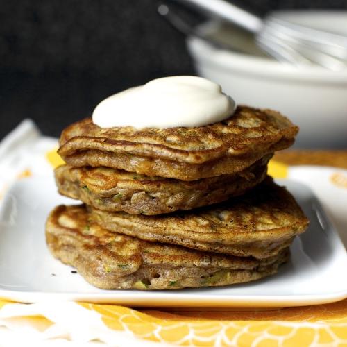 Zucchini Bread Pancakes   Smitten Kitchen